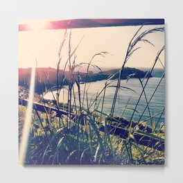 Floral Sunsets In May Metal Print