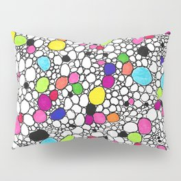 Circles and Other Shapes and colors Pillow Sham