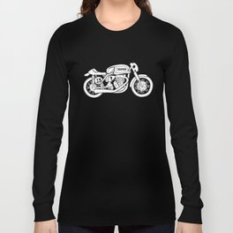 Norton Model 30 - Cafe Racer series #2 Long Sleeve T-shirt