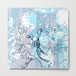 Dancing 1 Metal Print