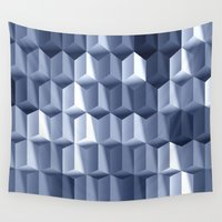 illusion Wall Tapestries featuring Illusion by All Is One