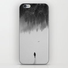 Silent Walk - B&W version iPhone & iPod Skin