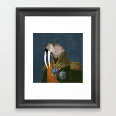 He is the Walrus Framed Art Print