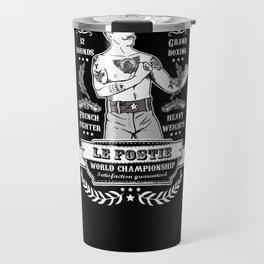 Vintage Boxing - Black Edition Travel Mug