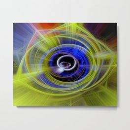 Space twirls Metal Print