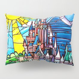 Sleeping Beauty's castle Pillow Sham