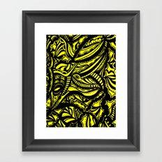 Yellow Lover Framed Art Print