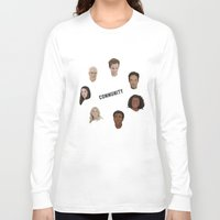 community Long Sleeve T-shirts featuring Community Simple by mycolour