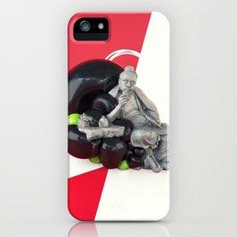 Lu Yu the Statue iPhone Case