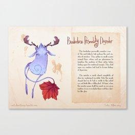 Real Monsters- Borderline Canvas Print