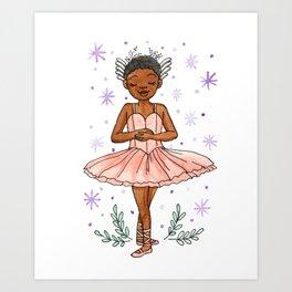 Balerina Art Print