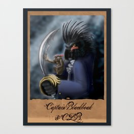 Captain Blackbeak Canvas Print
