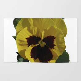 Golden Pansy Rug