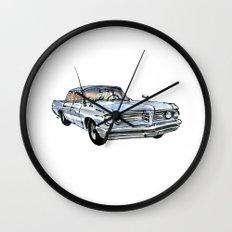Old Pontiac Wall Clock