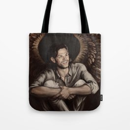 Sam Winchester. Angel Tote Bag
