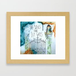 The Vines and Ivy Gates Framed Art Print