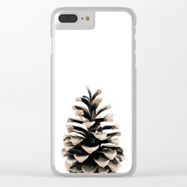 Pinecone Clear iPhone Case