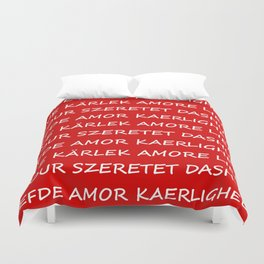 Love International Duvet Cover