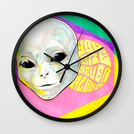 You Are Never Alone Wall Clock