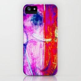 Colourful Elephant 1 iPhone Case
