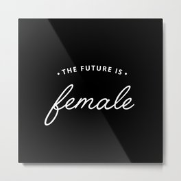 A Female Future Metal Print