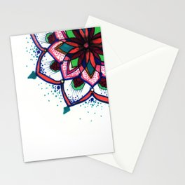 Arabesque Mandala Stationery Cards