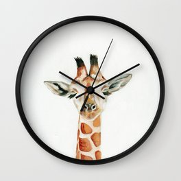 What Does the Giraffe Dream? Wall Clock