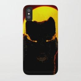 Malevolent Wolf iPhone Case