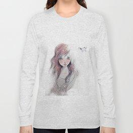 Dorah Pink Long Sleeve T-shirt