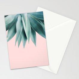 Agave fringe - blush Stationery Cards