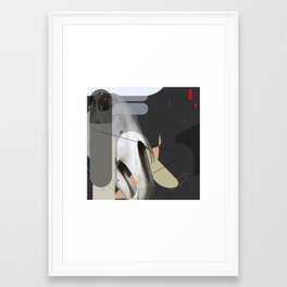 gdhdgh Framed Art Print