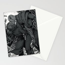 Kiss on the battlefield Stationery Cards