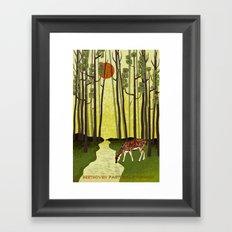 Pastoral Symphony - Symphony No. 6 - Beethoven Framed Art Print