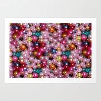 disco Art Prints featuring Disco by Joke Vermeer