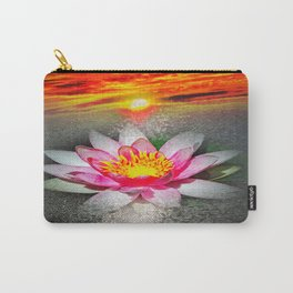Wellness Water Lily 5 Carry-All Pouch