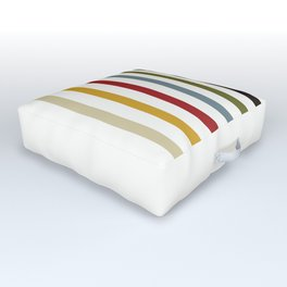 Line Weight Outdoor Floor Cushion