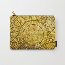 Golden Solar Symbol Carry-All Pouch