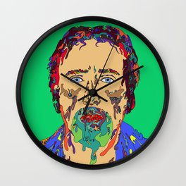 Face Melt Wall Clock