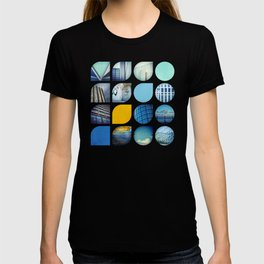 Cold Comfort Collage — The Blues T-shirt