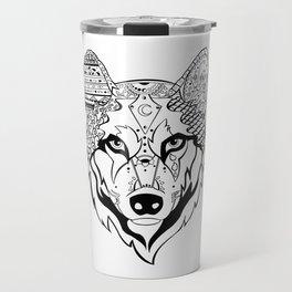 Sonya The Wolf Travel Mug