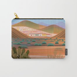 Copper Town (Square) Carry-All Pouch