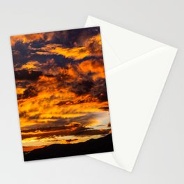 Sunset from Joshua Tree Stationery Cards