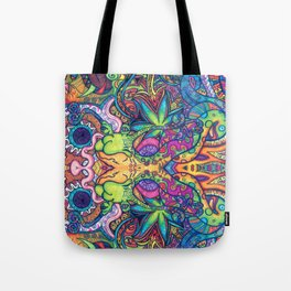 Trippy Weed Tote Bag