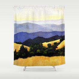 California Landscape Shower Curtain