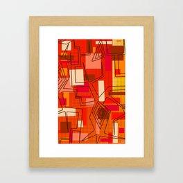 The Hat Dance Framed Art Print