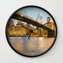 After the sun goes down Wall Clock