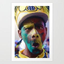 Carnival Time Art Print