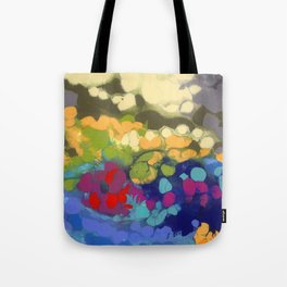 Tide Pool Reflections Tote Bag