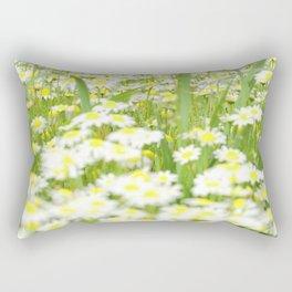 Field of daisies Rectangular Pillow