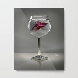 Fishy Metal Print